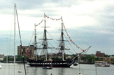 Boston USS Constitution Turnaround Sail