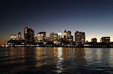 Boston Harbor City Lights Boat Tour