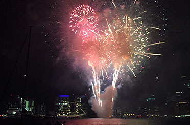 Boston Harbor Labor Day Fireworks Cruise
